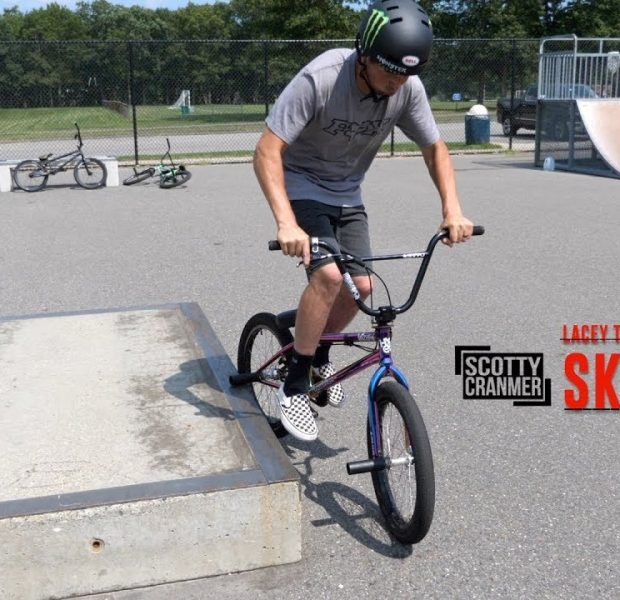 I DID ANOTHER NEW TRICK AT THE SKATEPARK!