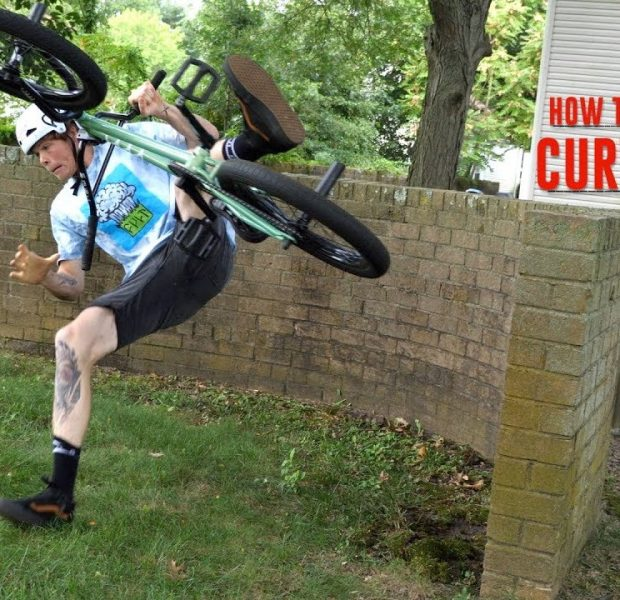 CURVED WALL RIDE GONE WRONG!