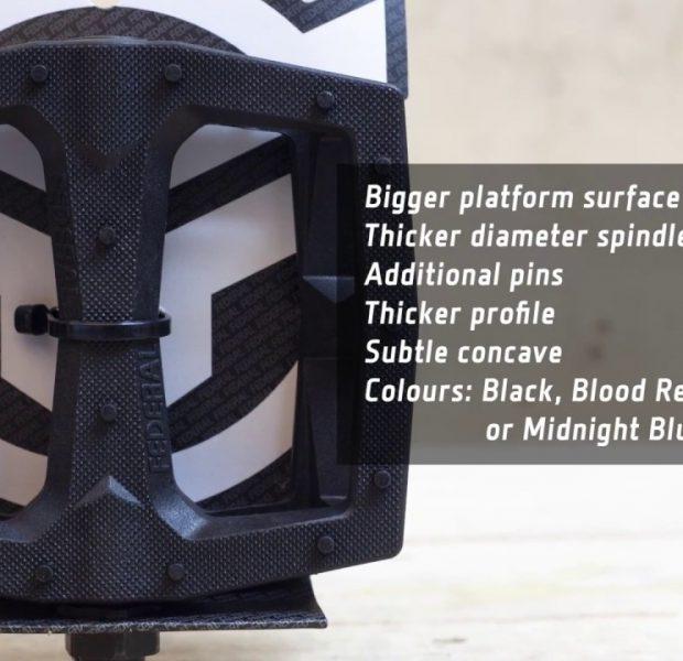 Federal BMX – Command Plastic Pedals – Black