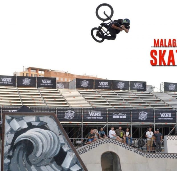 FIRST TIME RIDING AN AMAZING SKATEPARK IN SPAIN!