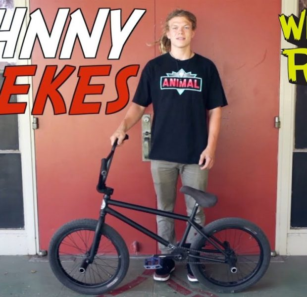 JOHNNY RAEKES – WHAT I RIDE (BMX BIKE CHECK)