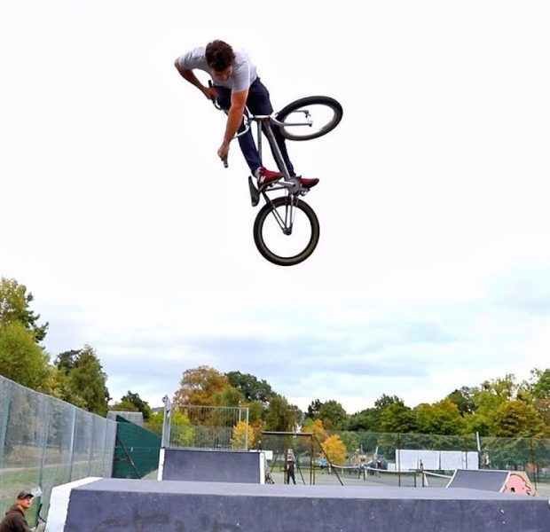 Re-learning old tricks – BMX