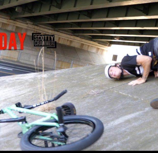 ROUGH DAY RIDING BMX ON THE STREETS!