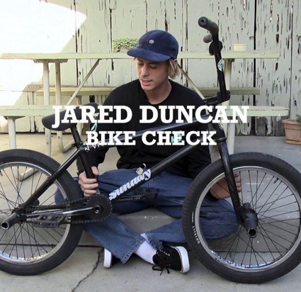 BMX / Jared Duncan – Bike Check