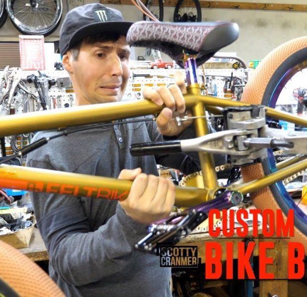 BUILDING A ONE OF A KIND CUSTOM BMX BIKE!
