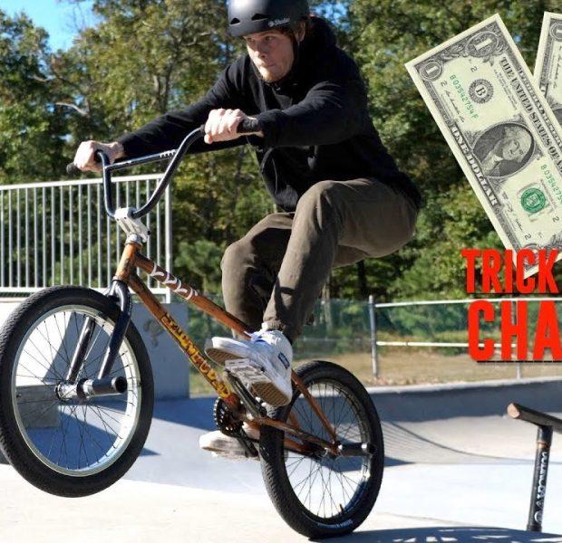 MAKING MONEY DOING BMX TRICKS!