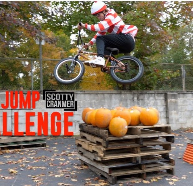 PUMPKIN HIGH JUMP!