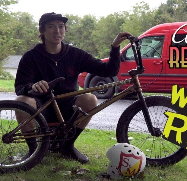 CLINT REYNOLDS' RIDES THE ULTIMATE TRAILS MACHINE! (BMX)