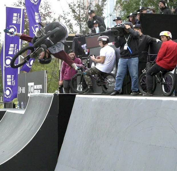 JAKE WALLWORK LEAVES THE FISE CHENGDU COURSE IN SMOKE! (BMX)