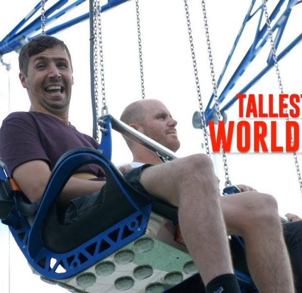 RIDING THE WORLD'S TALLEST SWING!