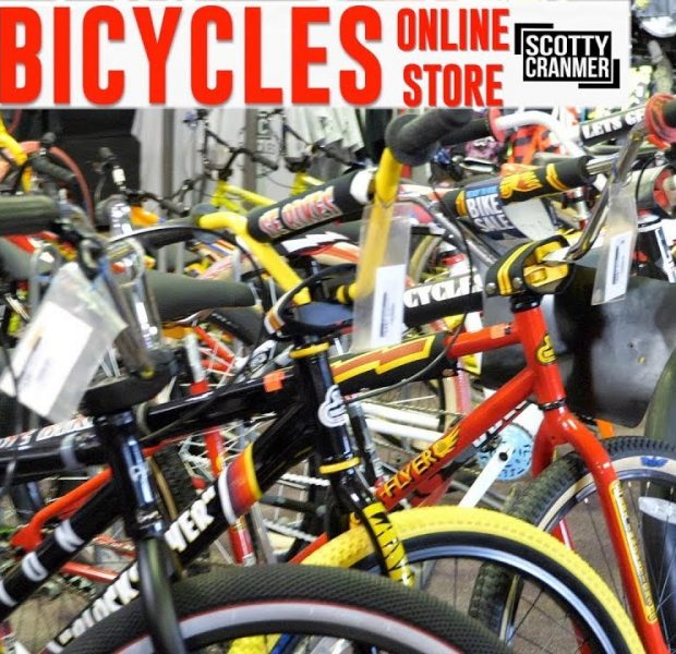 SCOTTY CRANMER HAS AN ONLINE BIKE SHOP!