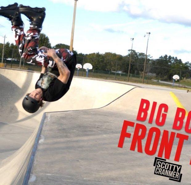 Big Boy vs Rollerblade Front Flip!