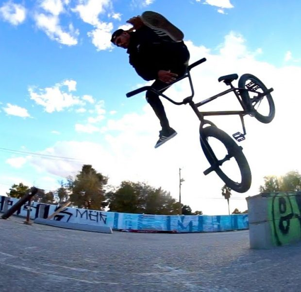 BMX – GETTING DESTROYED AT THIS DIY SPOT