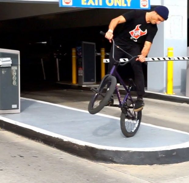 BMX – HOW TO MANUAL 180 WITH BEN SILVER