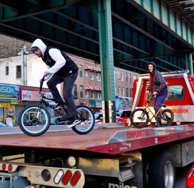 Building a New BMX Bike and Riding NYC