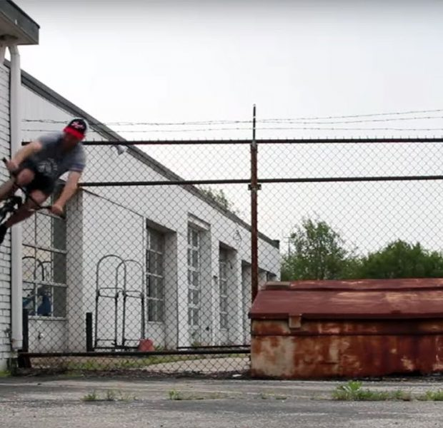 DAILY GRIND: REROUTING – TONY CHERRY FULL SECTION (BMX)