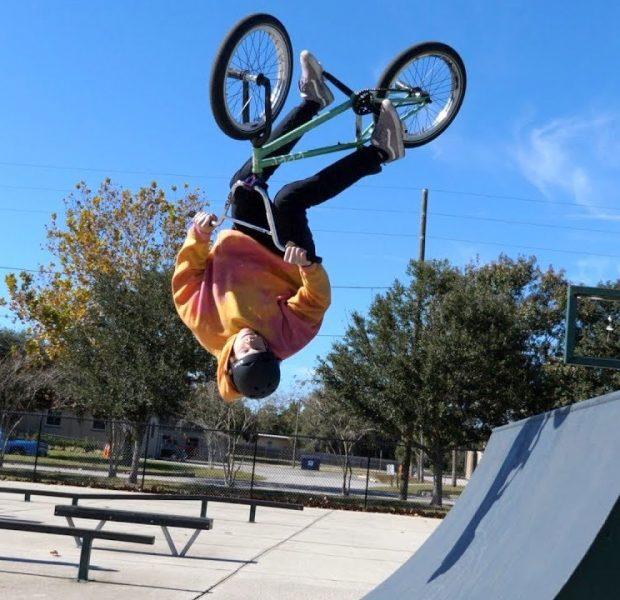 One Man Show At The Skatepark!