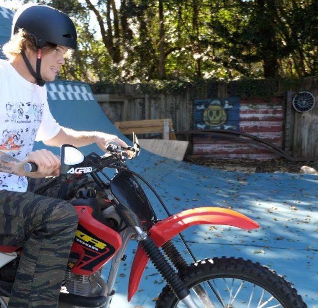 Big Boy Bought A Dirtbike – BAD IDEA!