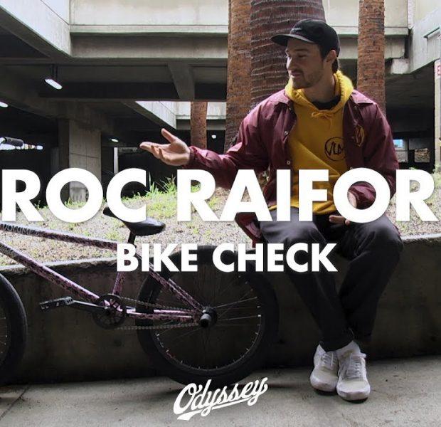 BMX / Broc Raiford – Bike Check