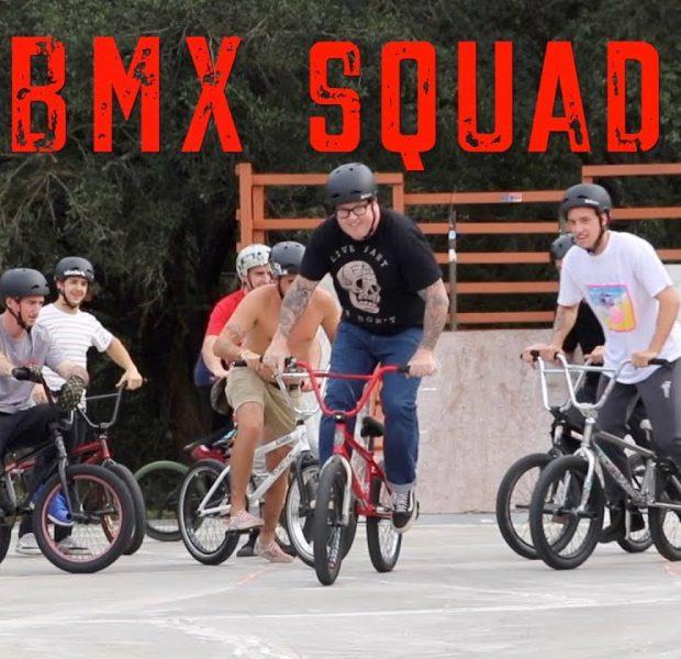 Bmx Squad Takes Over Kona Skatepark!