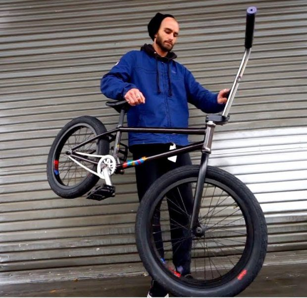 BUILDING UP ERIC LICHTENBERGER'S SIGNATURE BMX BIKE