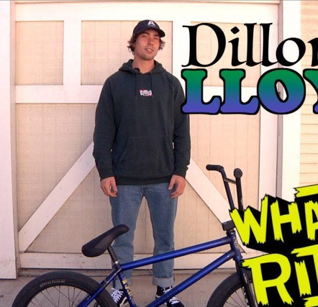 DILLON LLOYD – WHAT I RIDE (BMX BIKE CHECK)