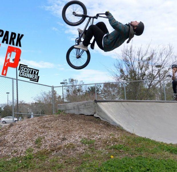 Mini Backflip At The Skatepark!