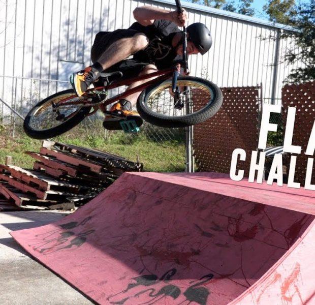 Smallest Ramp Flair Challenge!