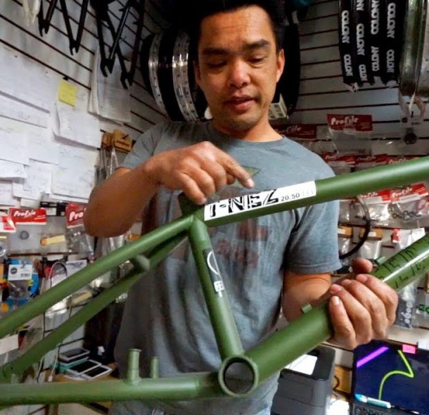 BMX HISTORY LESSON – FREESTYLE FRAMES