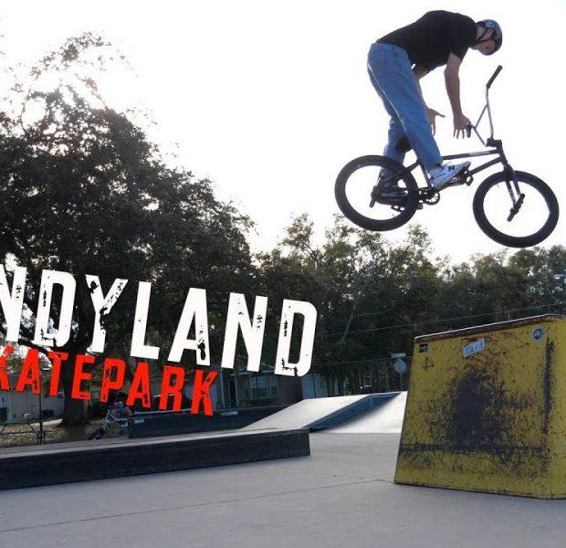 Candyland Skatepark Trick Challenge!
