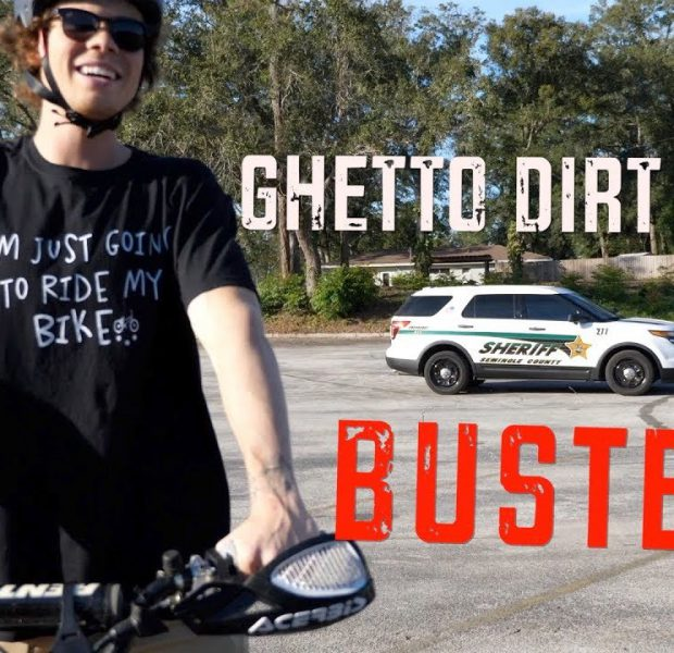 CAUGHT RED HANDED – Ghetto Dirt Bike Race!