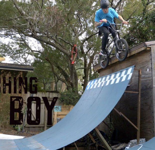 Handicapped Pro BMX Rider Teaches Aspiring Young Amateur Rider How To Do Tricks!