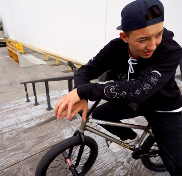 IS HE THE NEXT BIG THING IN BMX?