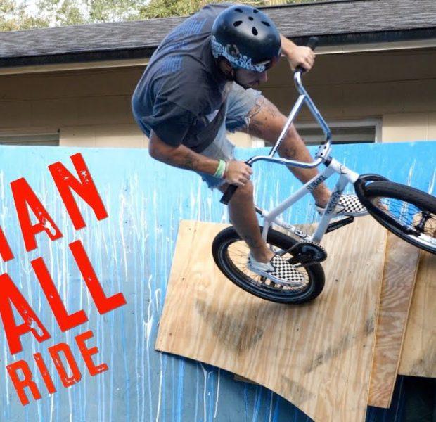 The Human Wall Ride!