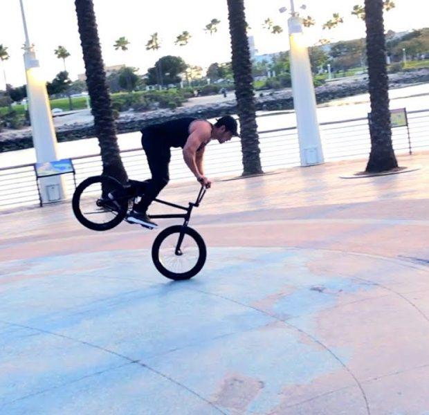 $1 BMX NOSE MANUAL CHALLENGE