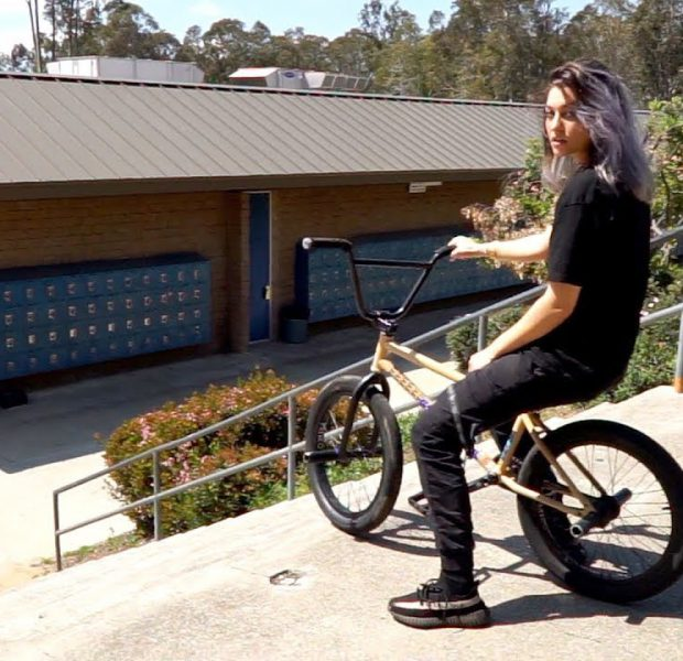 1ST GIRL EVER ATTEMPTS EL TORO ON A BMX BIKE *SHOCKING*