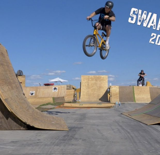 Crazy New Ramps At Swampfest!