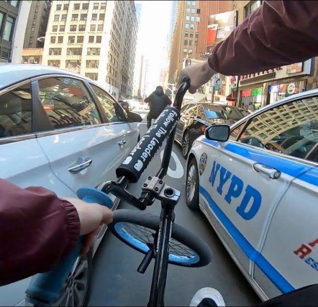Don't Do This in NYC Traffic! (BMX)