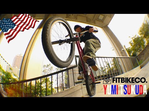FitBikeCo. – Yumi Tsukuda in the USA