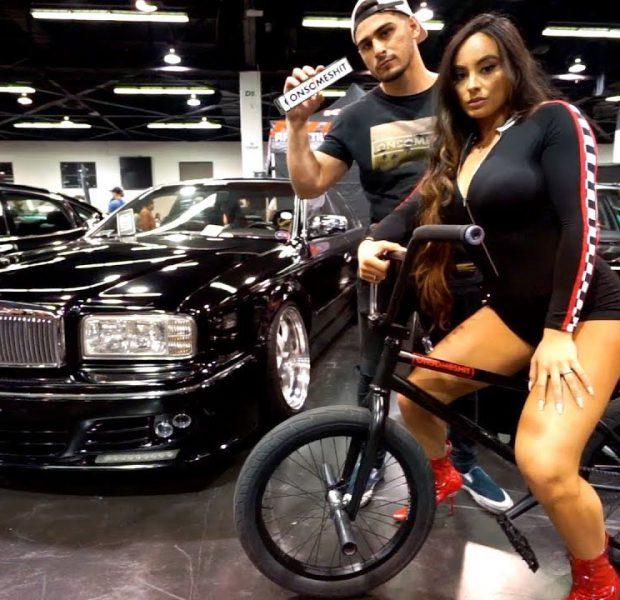 GIRLS LOVE BMX MORE THAN CARS *TUNER EVOLUTION*