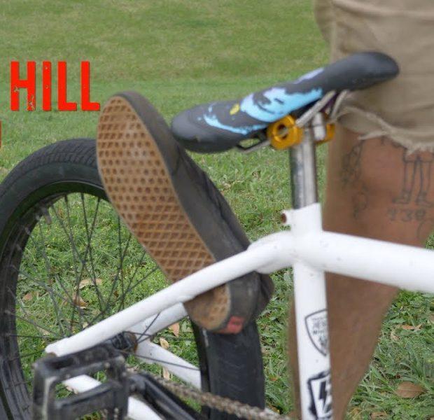 His Shoe Got Stuck In The Wheel!