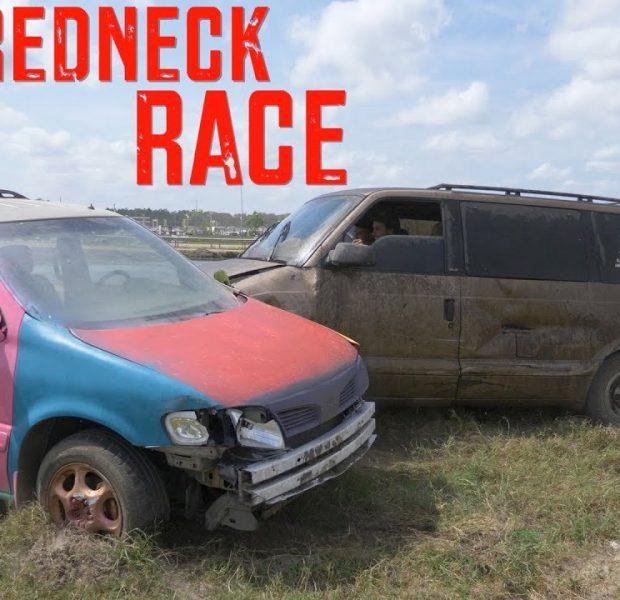 INSANE Redneck Van Race!