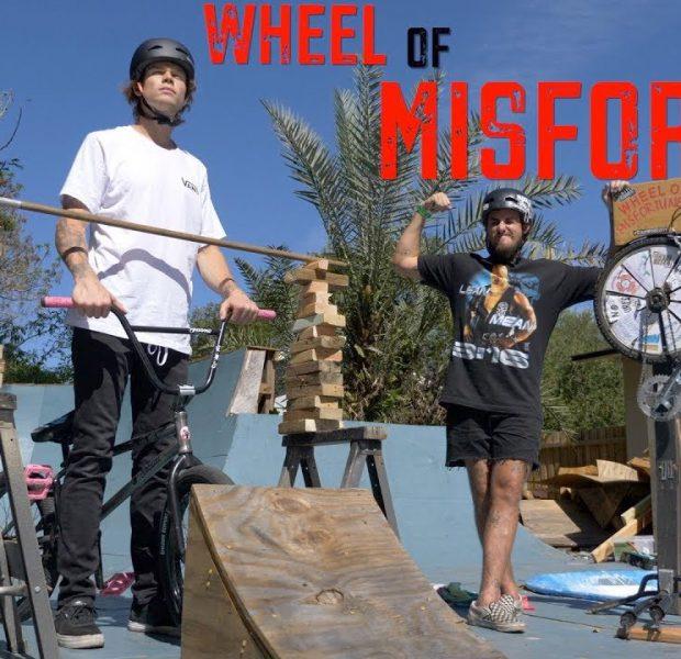 Wheel Of Misfortune High Jump Challenge!