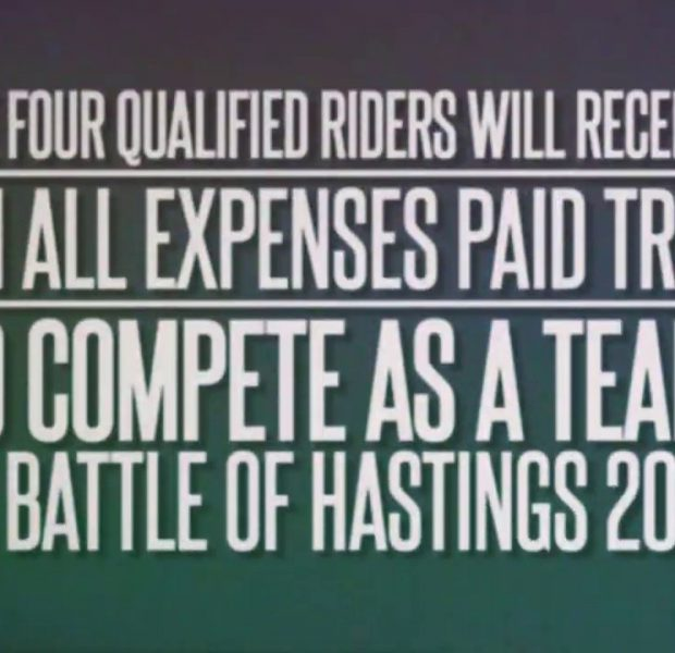 YOUR CHANCE TO RIDE THE 2019 BATTLE OF HASTINGS