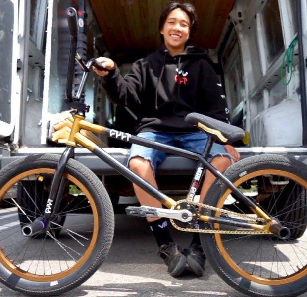 BMX BIKE CHECK – MAX VU AND HIS 20INCH CULT BUILD
