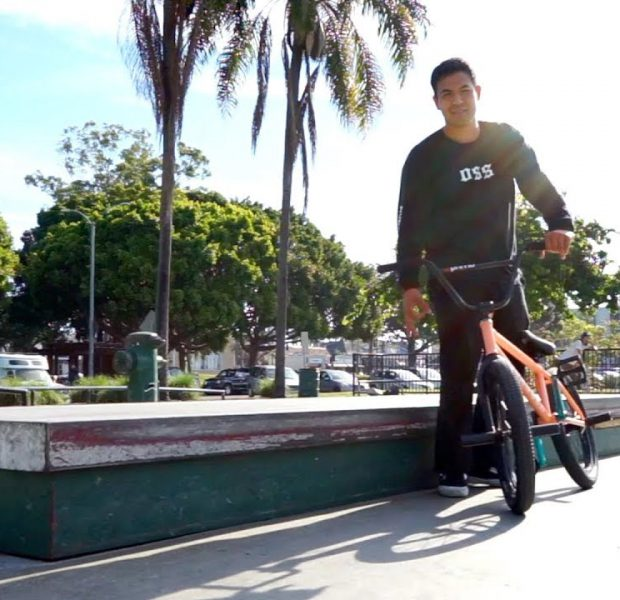 BMX – FLAT LEDGE GRIND CHALLENGE WITH ANDY GARCIA