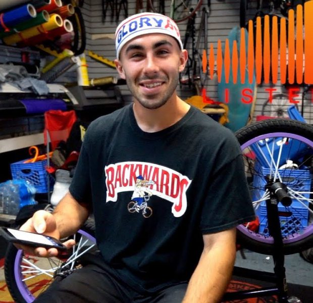 LISTEN UP WITH BMX PRO ETHAN CORRIERE