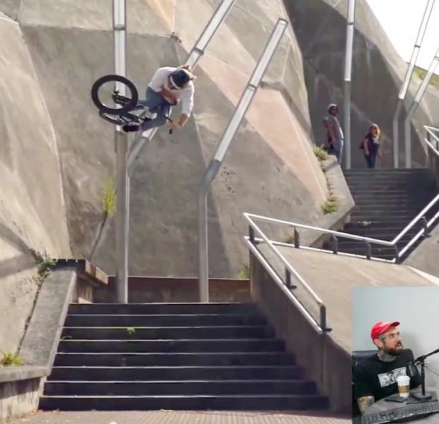 ADAM22, NATE RICHTER and BRANDON BEGIN REVIEW THIS WEEK'S BMX VIDEOS *XGAMES REAL STREET*