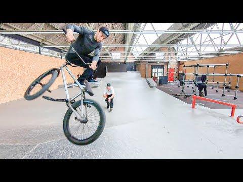 BMX Street & Skatepark: awesome Spots in Kortrijk, Belgium ( POV + RAW )