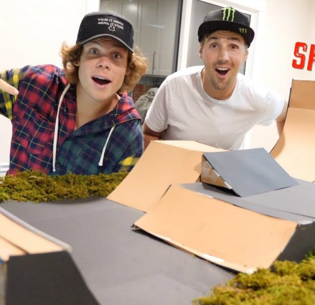 We Made A Model Skatepark!